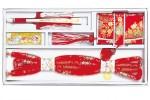 赤地のハコセコ、帯メ、末広