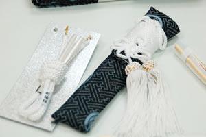 懐剣と羽織紐