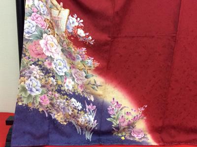 振袖の裾模様